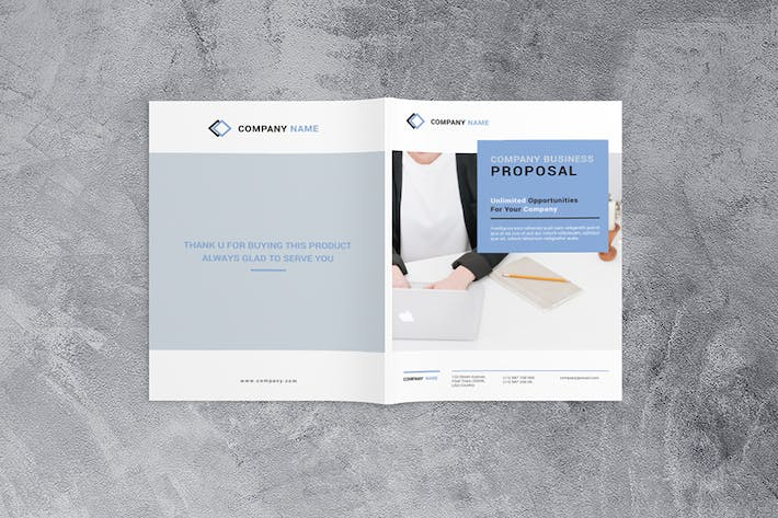 Cover Image For Company Business Proposal