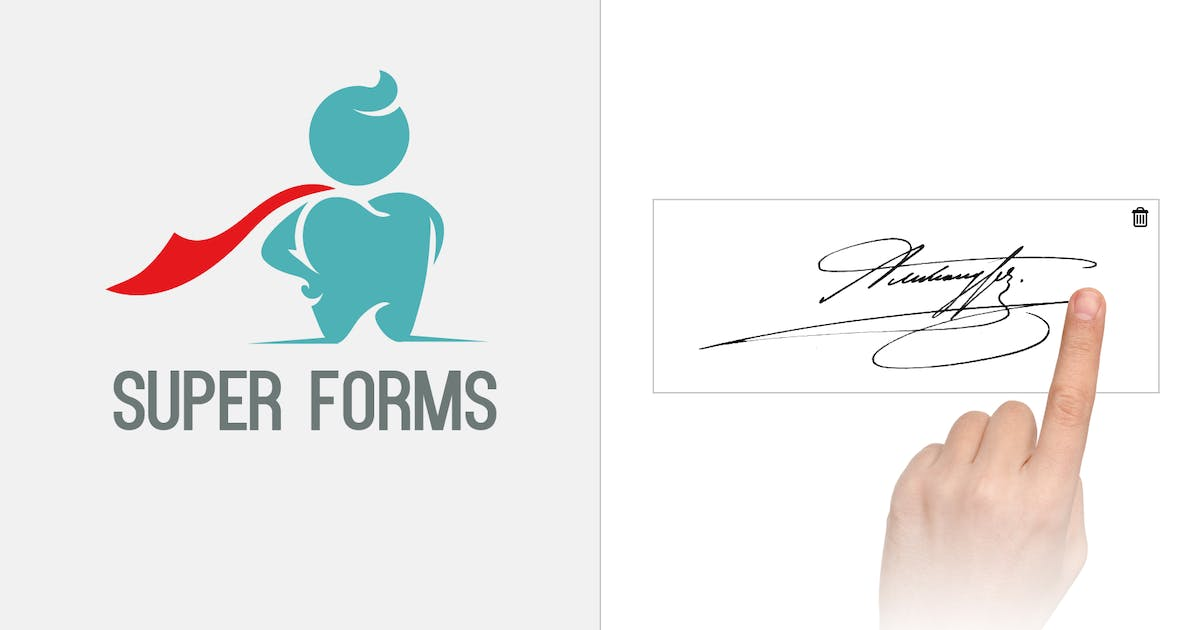 Download Super Forms - Signature by feeling4design