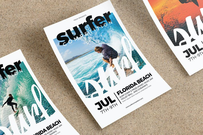 Surfing Flyer