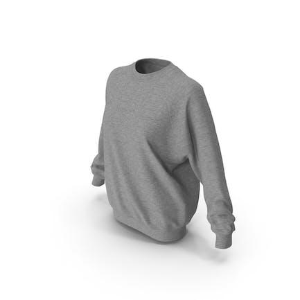 Damen-Pullover Grau