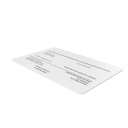 Tarjeta de seguro Medicina