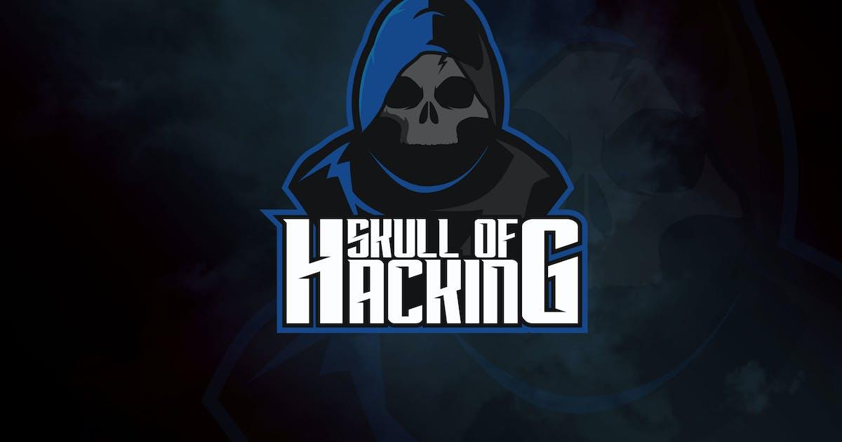 Download Skull of Hacking - Mascot & eSport Logo RB by Rometheme