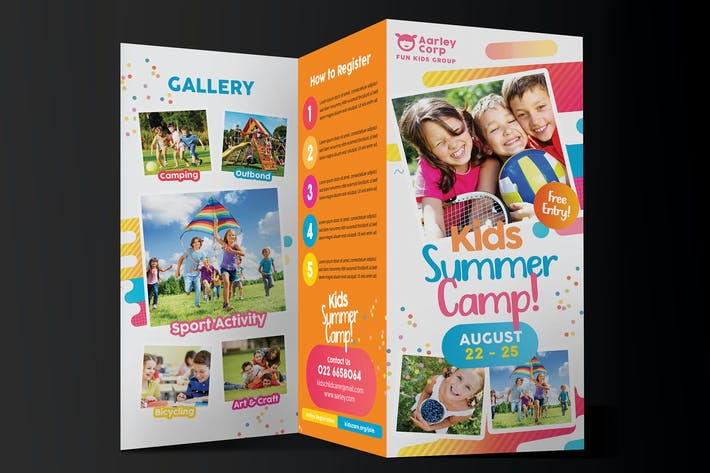 Thumbnail for Kids Activities Trifold