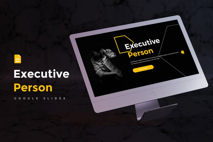Executive Person - Google Slides Template
