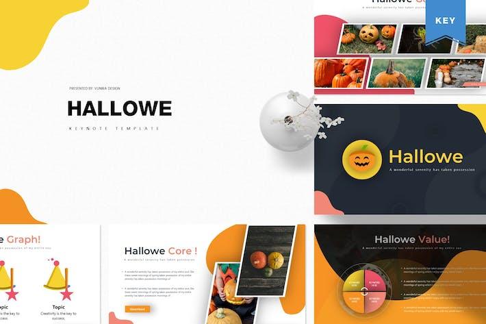 Hallowe | Шаблон Keynote