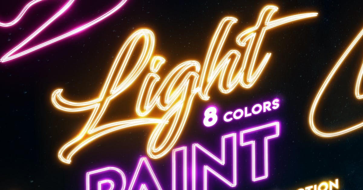 Download Light Painting - Photoshop Action by Sko4