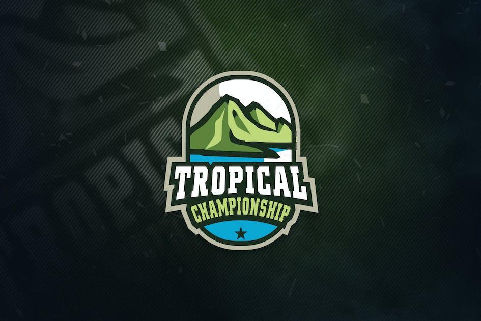 Download Tropical Championship Sports logo by ovozdigital