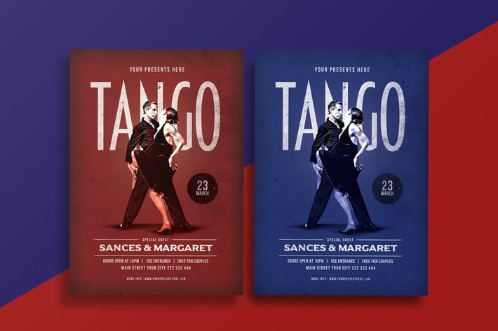 Thumbnail for Tango Dance Flyer