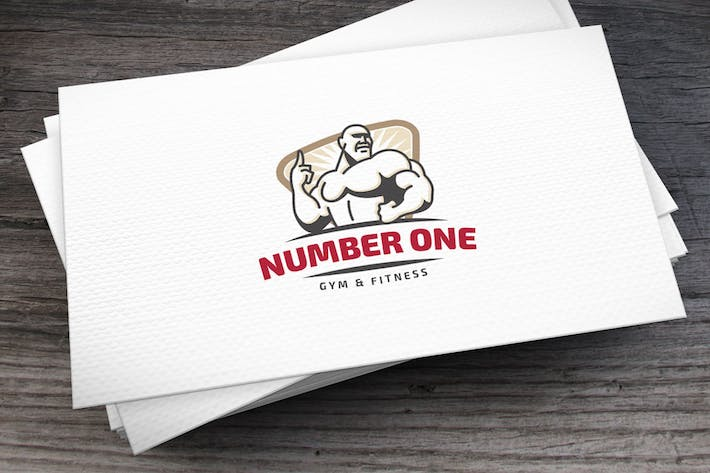 Thumbnail for Number One Logo Template