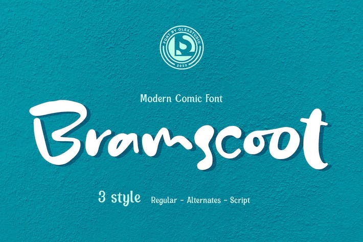 Thumbnail for Bramscoot - Modern Display Comic