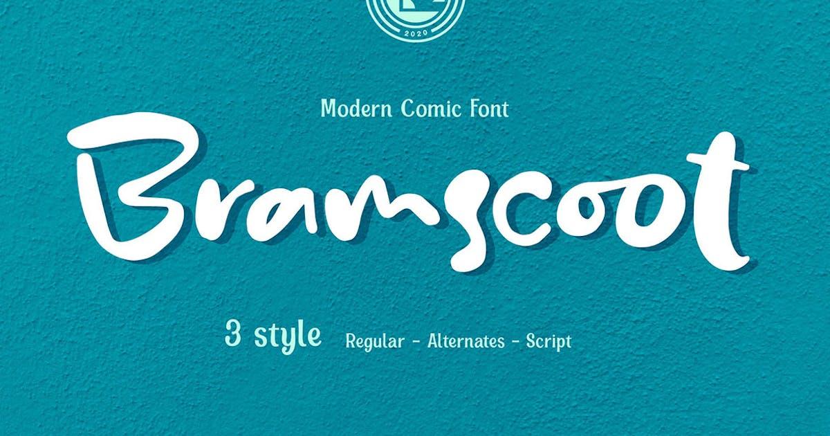 Download Bramscoot - Modern Display Comic by Olexstudio