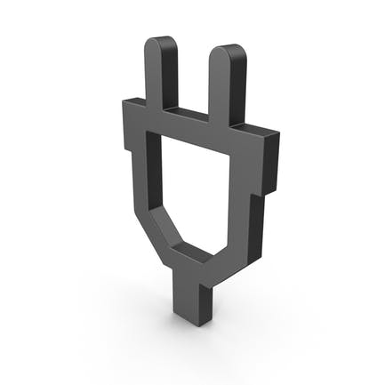 Symbol Plug Black