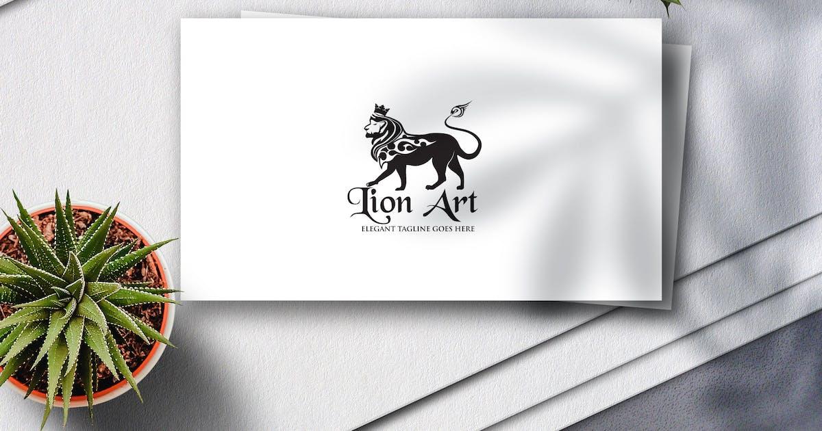 Download Lion Art Logo by Voltury