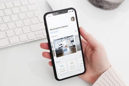 Smart Home Dashboard Mobile Ui - B