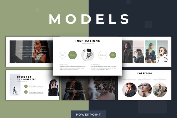 Models - Powerpoint Template