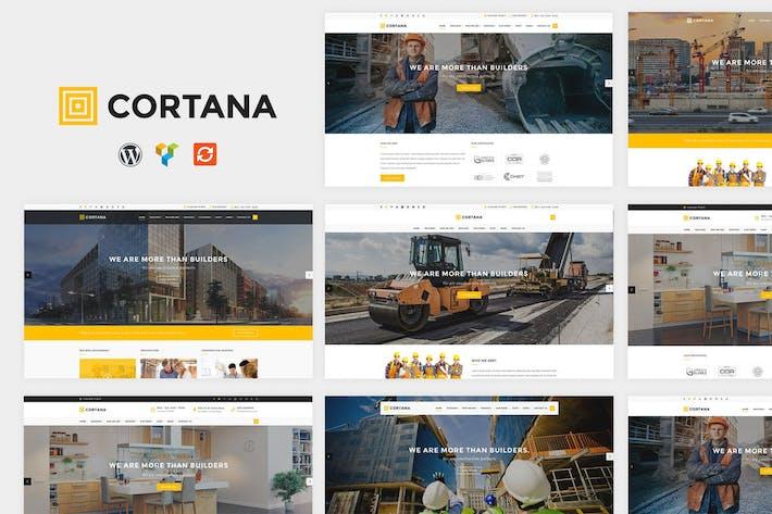 Thumbnail for Cartana - Construction WordPress Theme