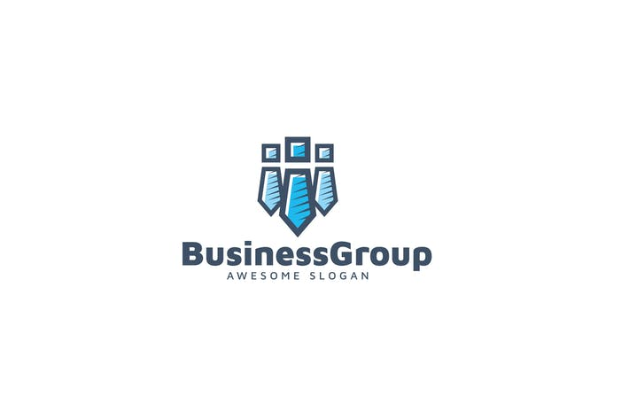 Thumbnail for Business Group Logo Template