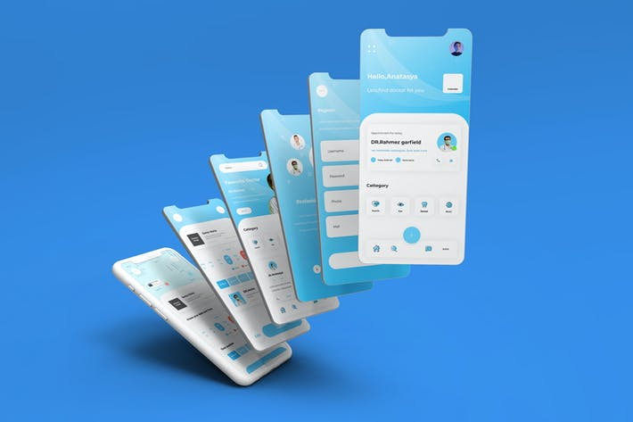 Thumbnail for iDoctor - Personal Doctor UI Kit