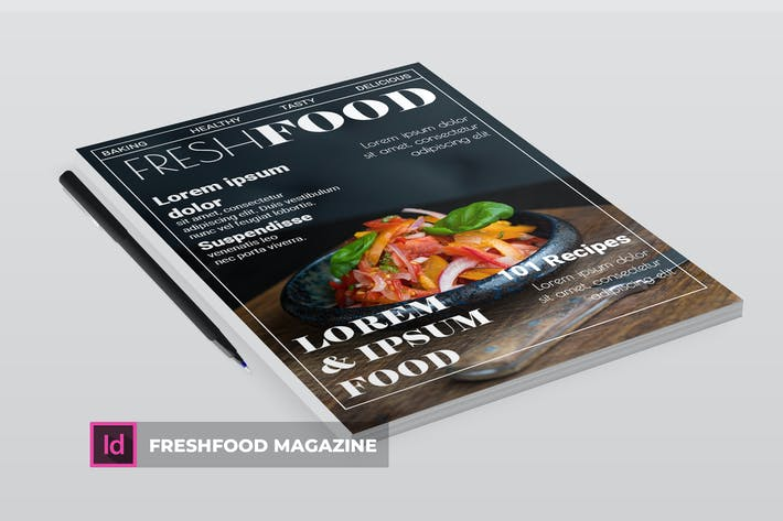 Thumbnail for freshfood | Magazine Template