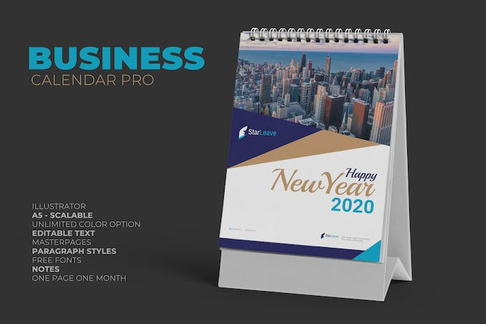 Cover Image For Clean Business Calendar Pro