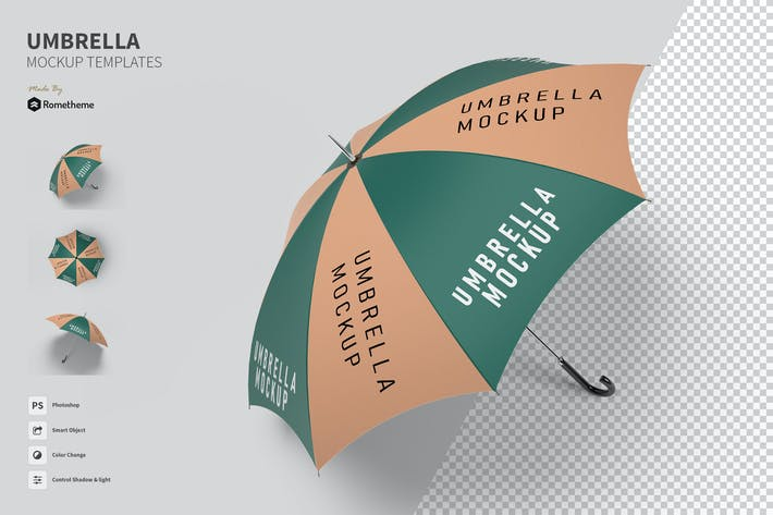 Thumbnail for Umbrella - Mockup FH