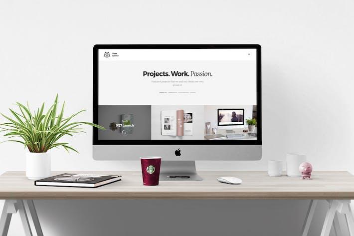 Thumbnail for Three Agency – Responsive HTML5 Portfolio for Crea