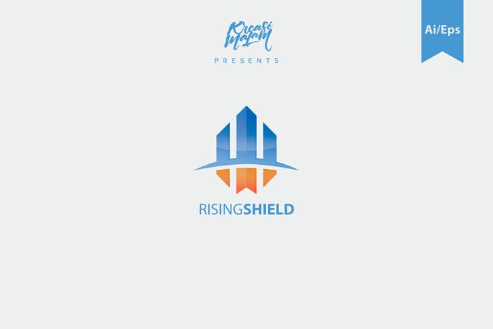 Thumbnail for Rising Field Logo Template