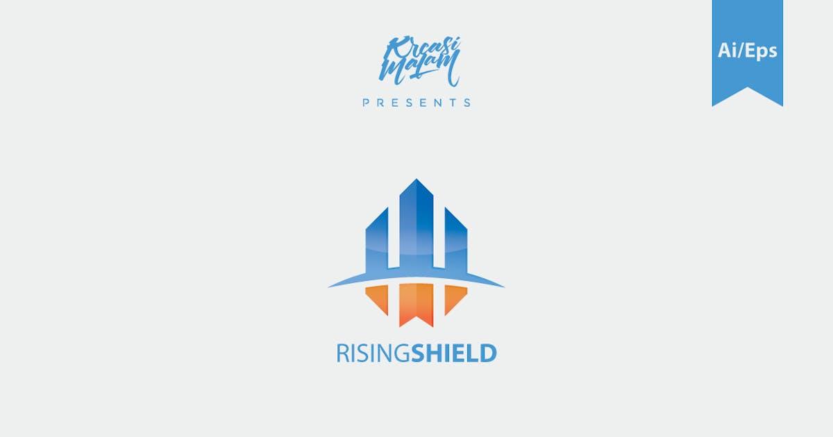 Download Rising Field Logo Template by Ijajil