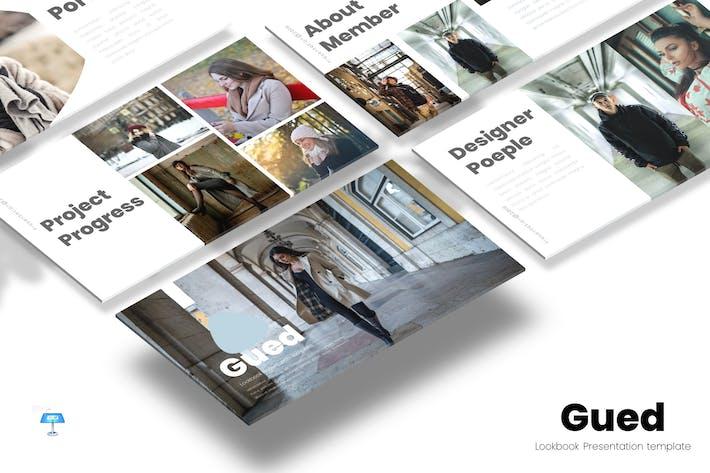 Thumbnail for Gued - Шаблон Keynote