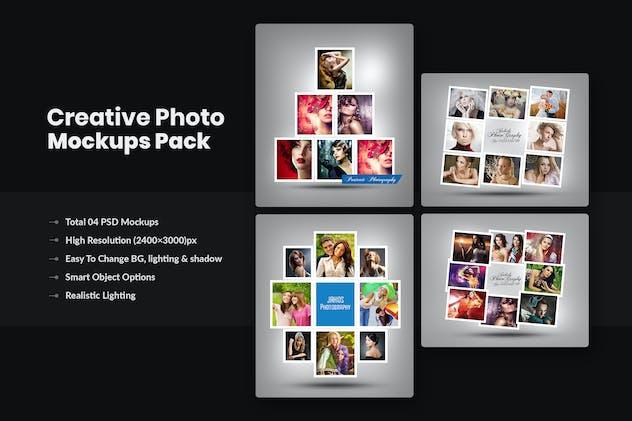 Photographers Photo Frame Collage Mockups