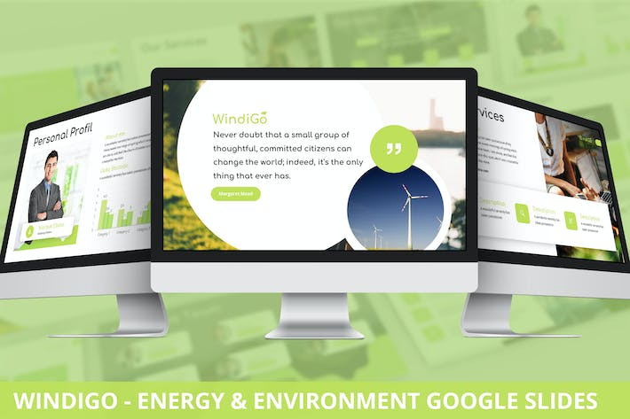 Thumbnail for Windigo - Energy & Environment Google Slides