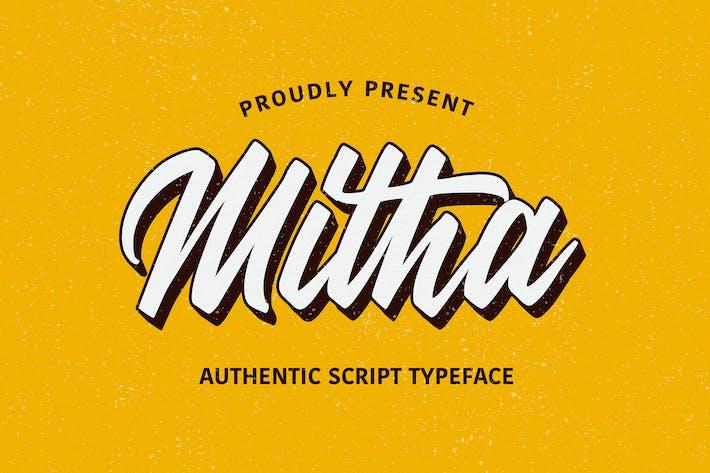 Cover Image For Scénario Mitha
