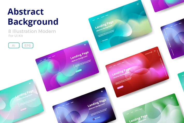 Thumbnail for 8 Abstract background design