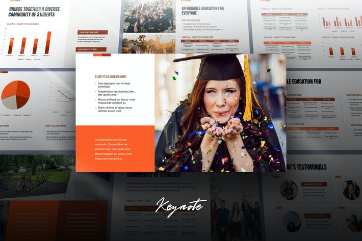 Edza - Education Keynote Template
