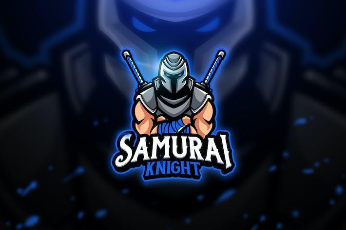 Thumbnail for Samurai Knight - Mascot & Esport Logo