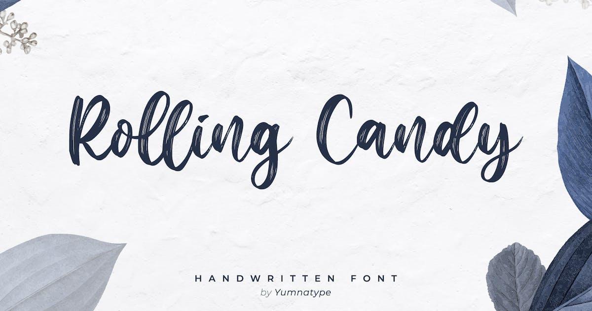 Download Rolling Candy-Beautiful Handwritten Font by YumnaStudio