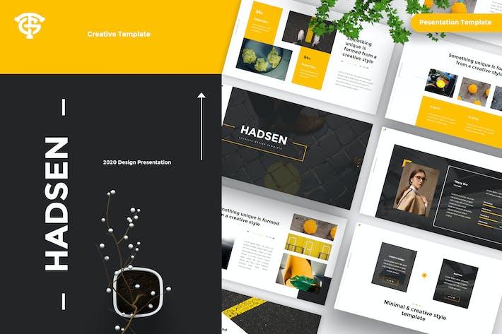 Thumbnail for Hadsen - Creative Presentation
