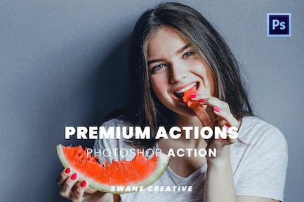 Premium Actions Part 2 Photoshop Action