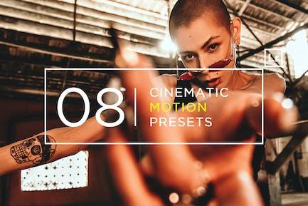 8 Cinematic Motion Lightroom Presets