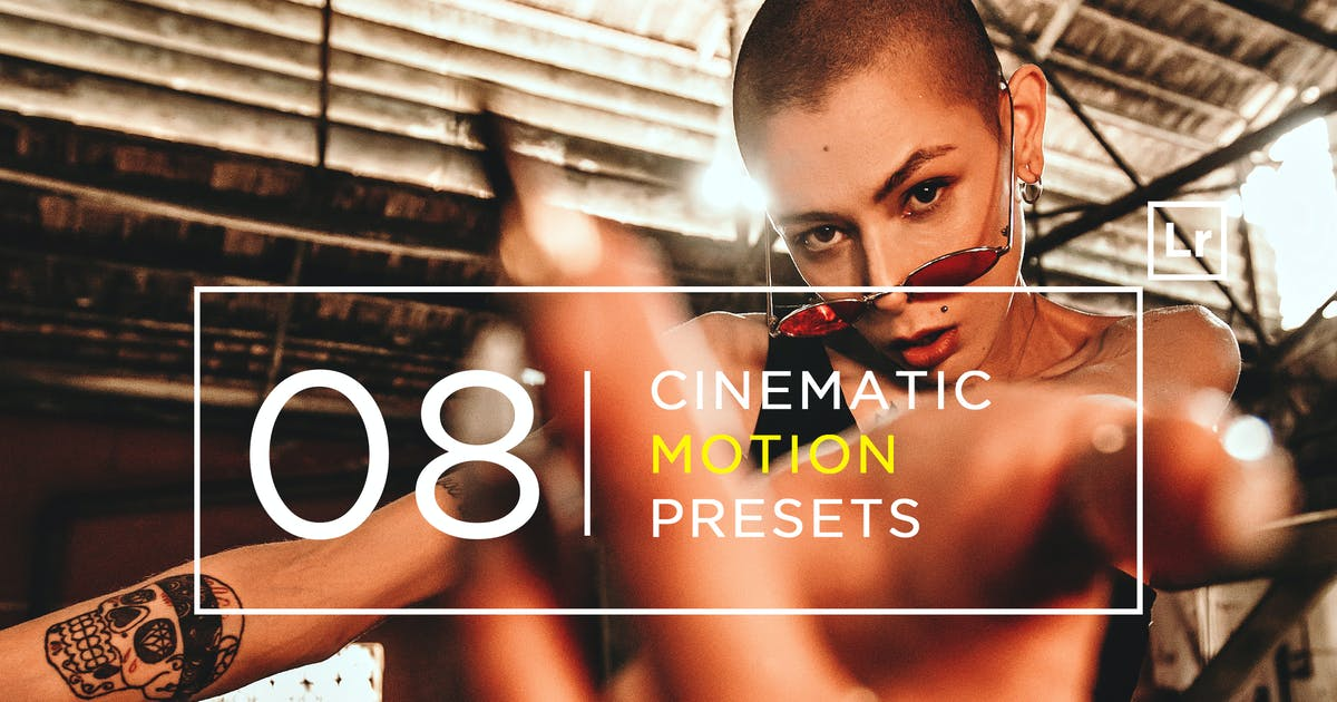 Download 8 Cinematic Motion Lightroom Presets by zvolia