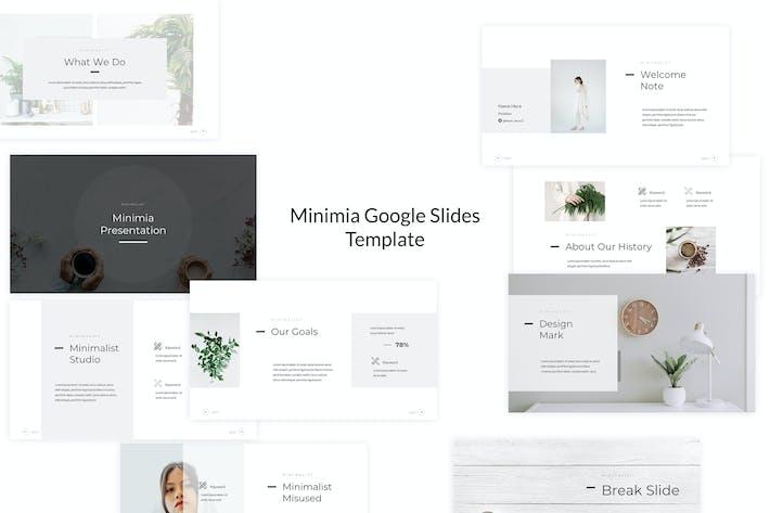 Thumbnail for Minimia - Google Slides Template