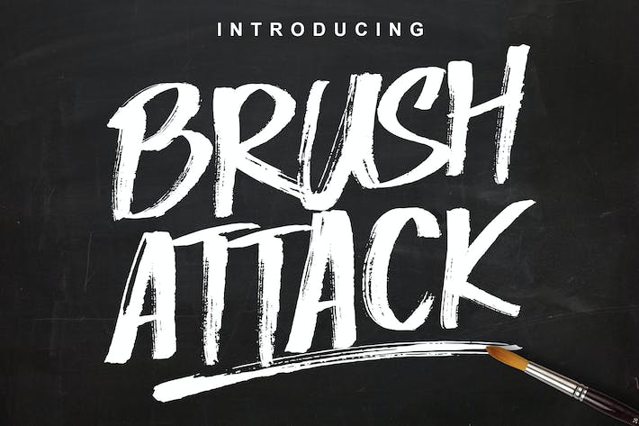 Cover Image For Brush Attack
