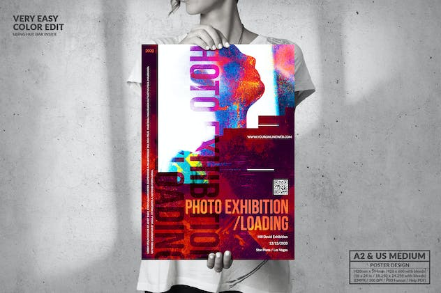Photo Event - Big Poster Design
