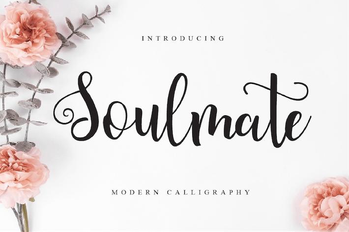 Thumbnail for Soulmate - Script Font