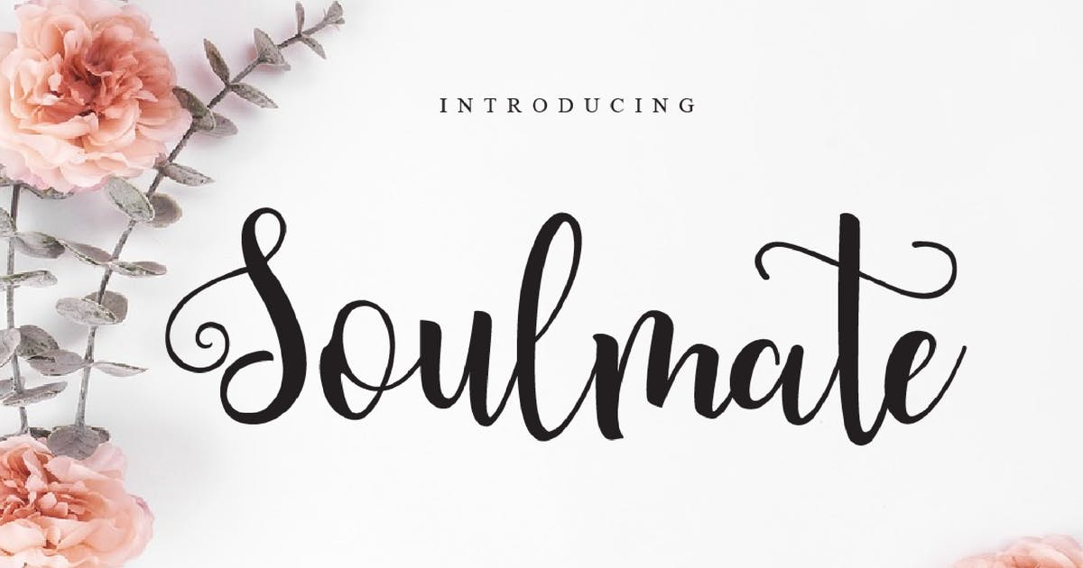 Download Soulmate Script Font - [code FH] by GranzCreative