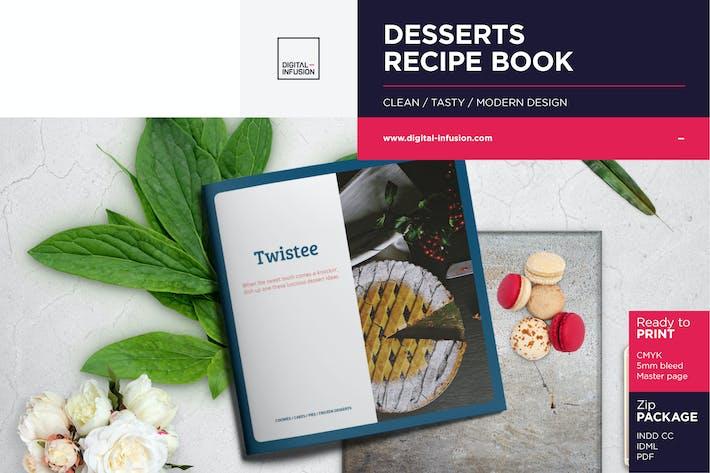 Twistee — Livre de recettes Desserts