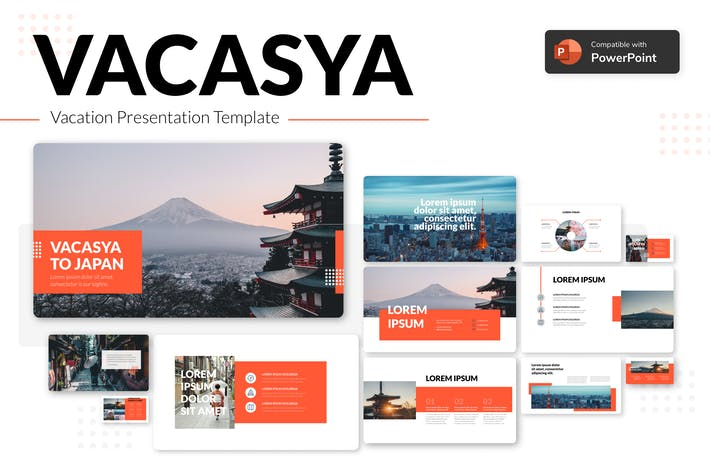 Thumbnail for VACASYA - Vacation Presentation Template