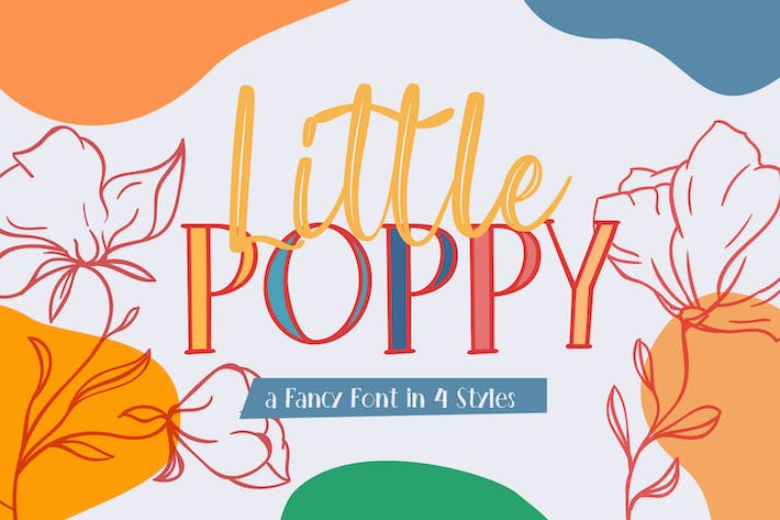 Thumbnail for Police fantaisie LittlePoppy