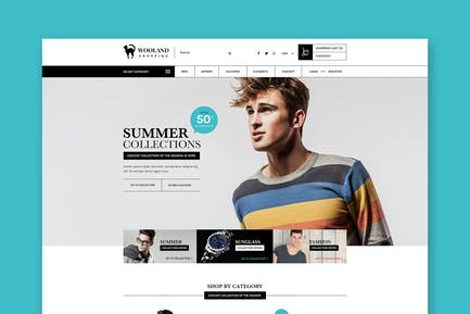 Wooland - Responsive eCommerce HTML Template