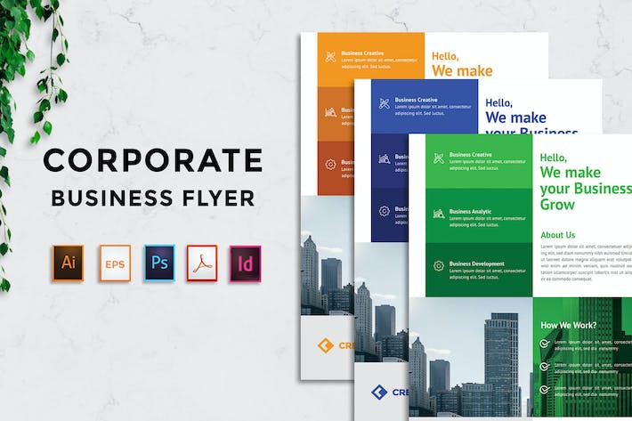 Thumbnail for Corporate - Business Flyer v.YP02